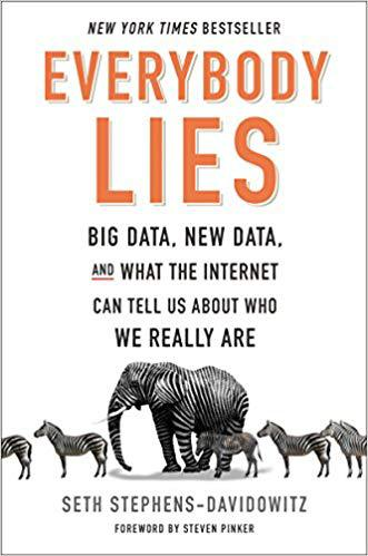 Bokcover Everybody Lies: Big Data, New Data, and What the Internet Can Tell Us About Who We Really Are